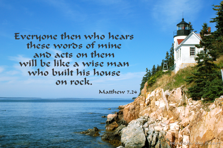 Image result for free photo of Matthew 7:21, 24-27